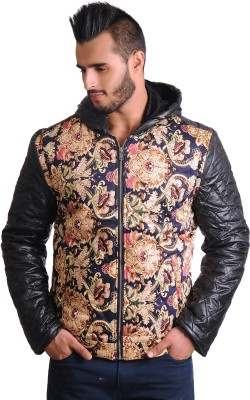 Cravers Full Sleeve Printed Men's Quilted Jacket