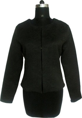 I Am For You Full Sleeve Solid Women,s Jacket