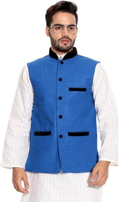 Zion Sleeveless Solid Men's Jacket