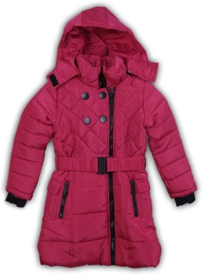 Lilliput Full Sleeve Solid Girl's Jacket
