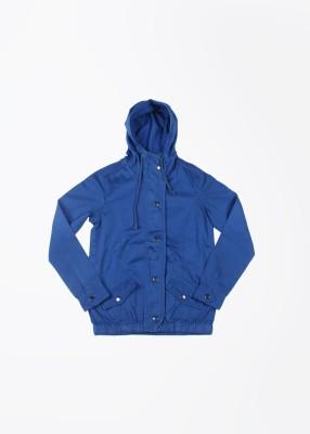 People Full Sleeve Solid Boy's Jacket