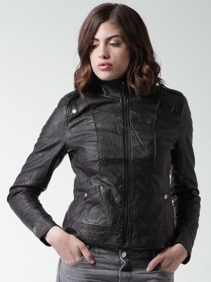 Mast & Harbour Full Sleeve Solid Women,s Jacket