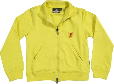 Fiorucci Full Sleeve Applique Girl's Jacket Jacket