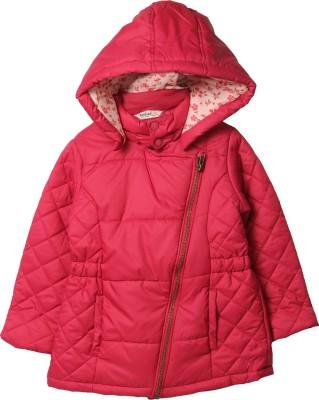 Beebay Full Sleeve Solid Girl's Jacket