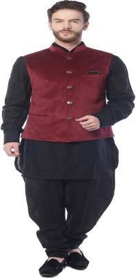 Mohanlal Sons Half Sleeve Self Design Men's Jacket