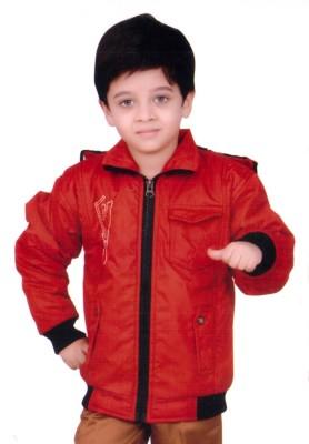 Kabeer Full Sleeve Solid Boy's Jacket