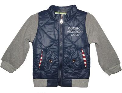 Habooz Full Sleeve Self Design Boy's Jacket
