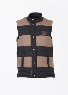 Pepe Jeans Sleeveless Striped Men's Jacket