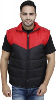 Rakshita collection Sleeveless Solid Men's Jacket