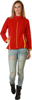 Belle Fille Full Sleeve Solid Women,s Jacket