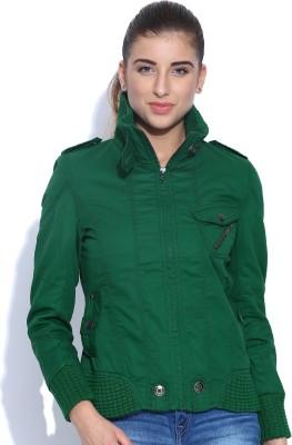 Oner Full Sleeve Solid Women's Jacket
