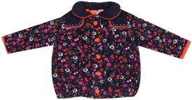 NautiNati Full Sleeve Printed Baby Girls Jacket