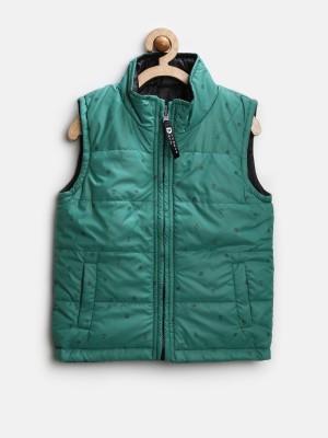612 League Sleeveless Printed Boy's Jacket