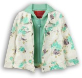 Lilliput Full Sleeve Printed Girls Jacke...