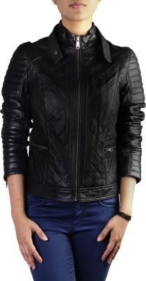 Theo&Ash Full Sleeve Solid Women's Quilted Jacket