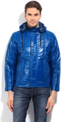 Fort Collins Full Sleeve Striped Men's Quilted Jacket