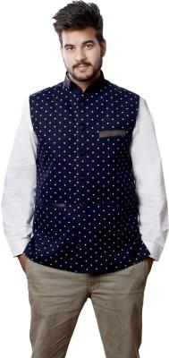 Veera Paridhaan Sleeveless Printed Men's Jacket