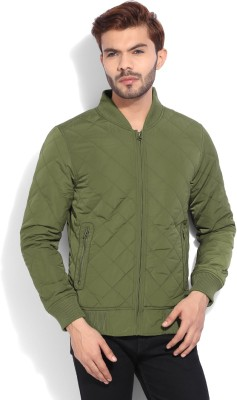 United Colors of Benetton Full Sleeve Solid Mens Quilted Jacket