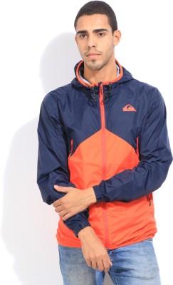 Quiksilver Full Sleeve Solid Men's Sports Jacket Jacket