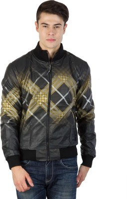 Burdy Full Sleeve Graphic Print Men's Jacket