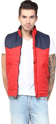 Yuvi Sleeveless Solid Men's Jacket