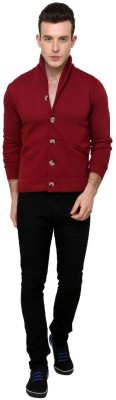 Casual Tees Full Sleeve Solid Mens Quilted Jacket