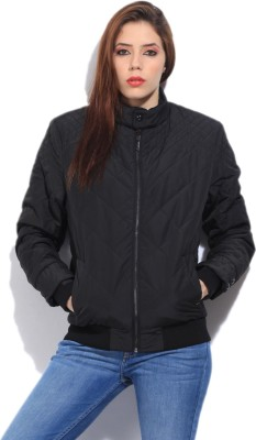 Arrow Full Sleeve Solid Men's Quilted Jacket