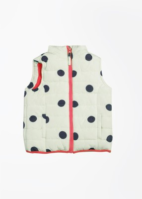 Mothercare Sleeveless Printed Girl's Quilted Jacket