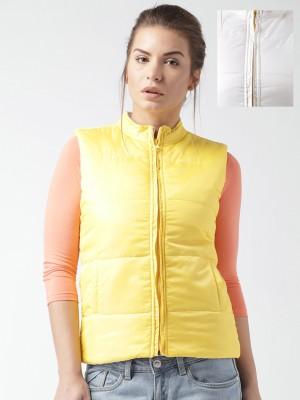 Mast & Harbour Sleeveless Solid Women,s Jacket