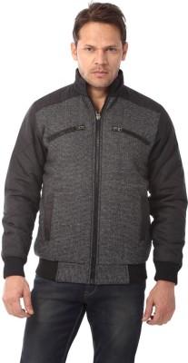 Club Fox Full Sleeve Solid Men's Jacket