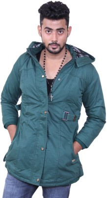 Austrich Full Sleeve Solid Mens Cotton Jacket