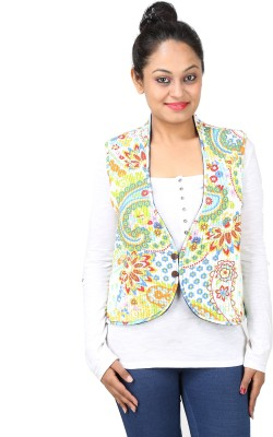 Indigenous Sleeveless Printed Women's Jacket
