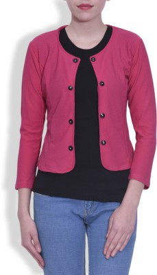 London Off Full Sleeve Solid Women's Jacket