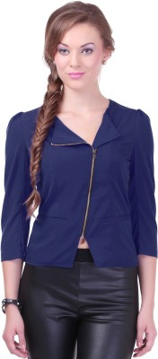 Street 9 3/4 Sleeve Solid Women's Jacket