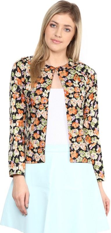 Athena Full Sleeve Floral Print Women's Jacket