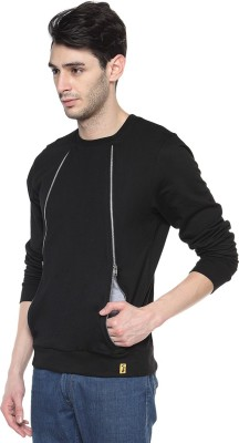 Campus Sutra Full Sleeve Solid Mens Jacket Jacket