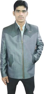 Sarif Log Full Sleeve Solid Men's Jacket