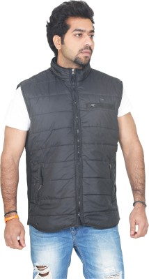 Vedache Sleeveless Solid Men's Jacket
