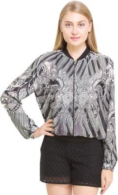 Oxolloxo Full Sleeve Printed Women's Basic Jacket