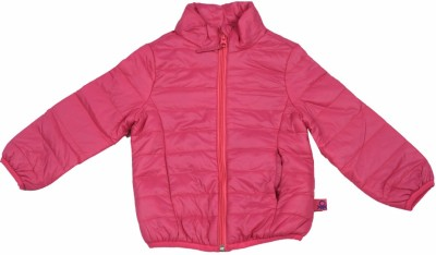 United Colors of Benetton Full Sleeve Striped Girl's Quilted Jacket