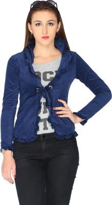 Max Full Sleeve Solid Women's Jacket at flipkart