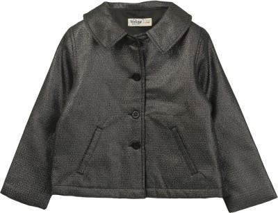 Beebay Full Sleeve Solid Girl's Shell Jacket