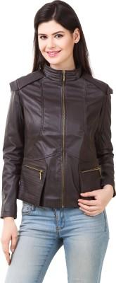 PerryJones Full Sleeve Solid Women's Jacket at flipkart