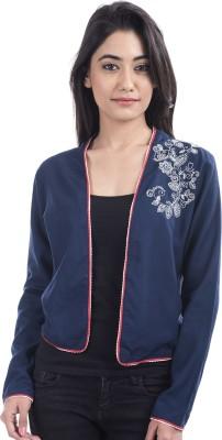 Tasrika Full Sleeve Embroidered, Printed Women's Jacket at flipkart