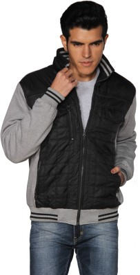 Provogue Full Sleeve Solid Men's Quilted Jacket
