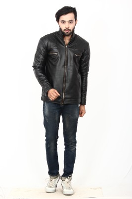 Stiletto Full Sleeve Solid Men's Jacket