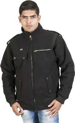 Troos Full Sleeve Solid Men's Jacket