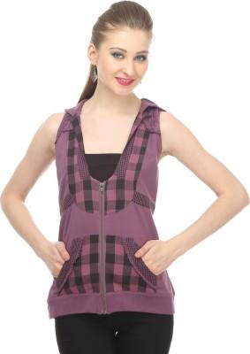 Remanika Sleeveless Printed Women's Jacket
