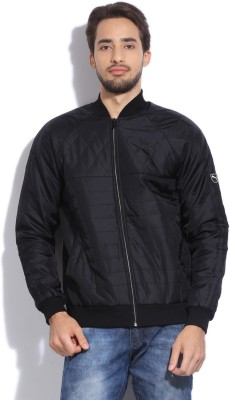 Puma Full Sleeve Striped Men's Quilted Jacket