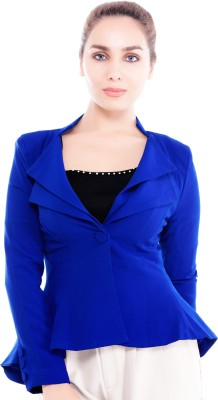 Revoure Full Sleeve Solid Women's Jacket